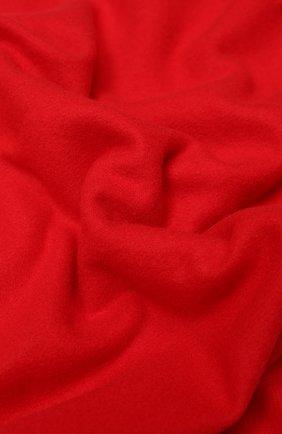 Шерстяной шарф с бахромой | Фото №2