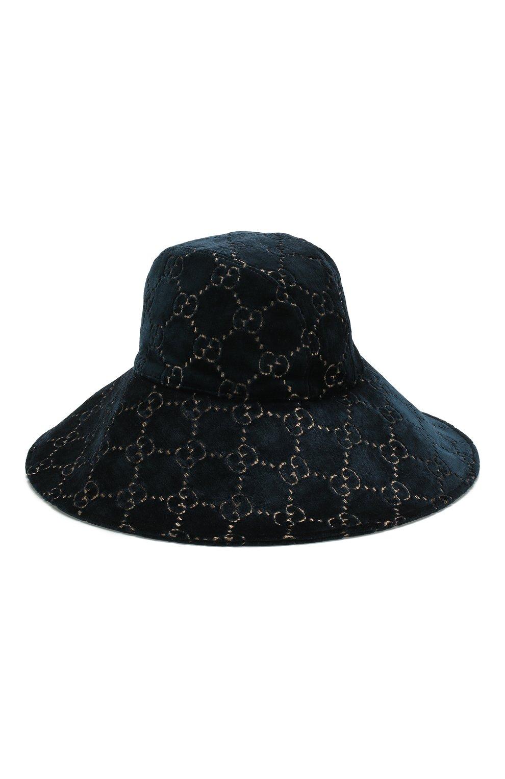 Вельветовая шляпа GG   Фото №1