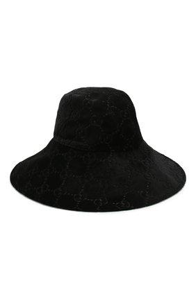 Вельветовая шляпа GG | Фото №1
