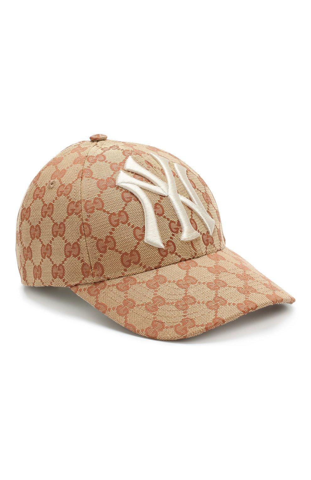 Текстильная кепка GG Supreme | Фото №1