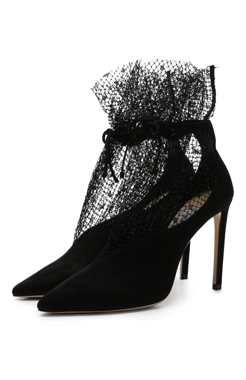 Замшевые туфли Leanne 100 на шпильке   Фото №1
