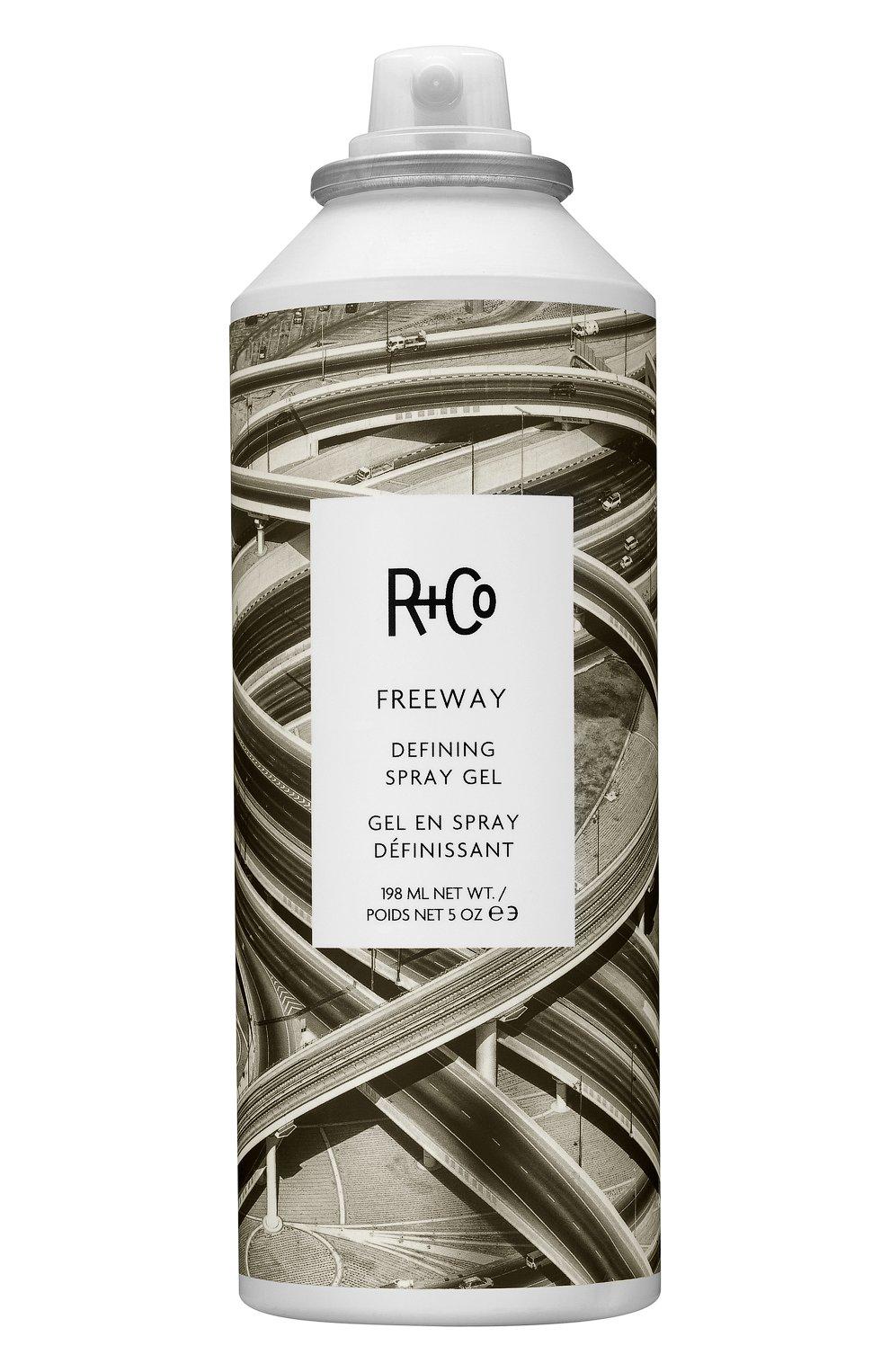 Дефинирующий гель-спрей freeway (198ml) R+CO бесцветного цвета, арт. 810374022559   Фото 1 (Статус проверки: Проверена категория)
