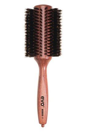 Круглая щетка с натуральной щетиной для волос Bruce 38мм | Фото №1
