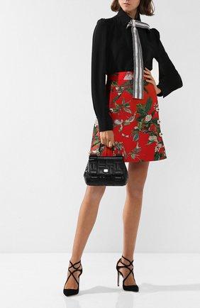 Сумка Sicily small Dolce & Gabbana черная цвета   Фото №1
