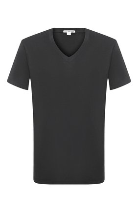 Мужская хлопковая футболка JAMES PERSE серого цвета, арт. MLJ3352 | Фото 1