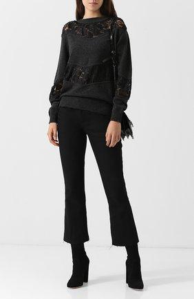 Пуловер из смеси шерсти и хлопка See by Chloé белый   Фото №1