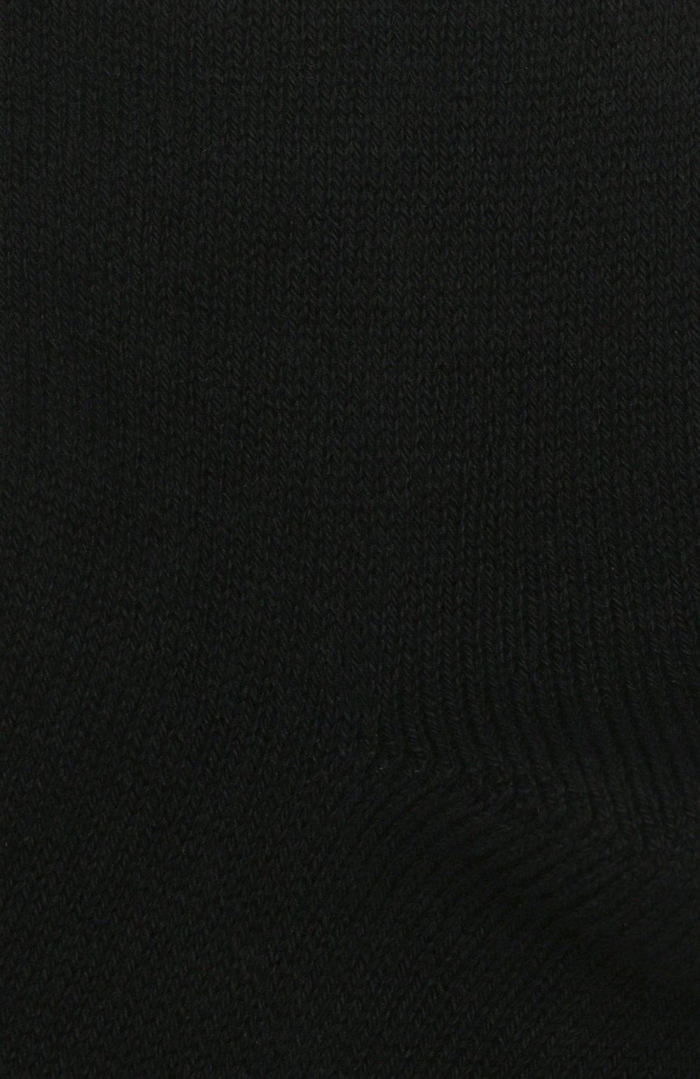Детские хлопковые гольфы La Perla черного цвета | Фото №2