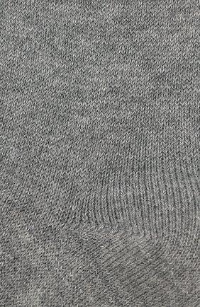 Детские хлопковые гольфы LA PERLA серого цвета, арт. 42516/3-6 | Фото 2