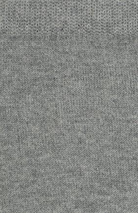 Детские хлопковые гольфы LA PERLA серого цвета, арт. 42516H/7-8 | Фото 2