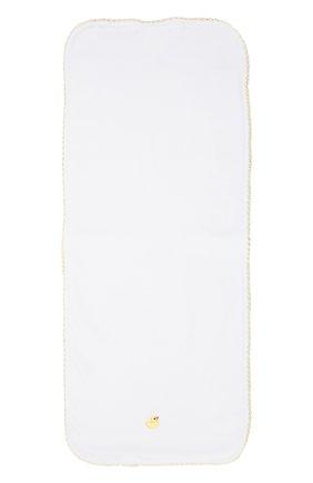 Хлопковая пеленка Kissy Kissy белого цвета   Фото №1