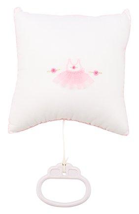 Подушка из хлопка Kissy Kissy разноцветного цвета   Фото №1