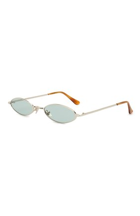 Женские солнцезащитные очки SPEKTRE серебряного цвета, арт. XYZ 02A | Фото 1 (Статус проверки: Проверена категория, Проверено; Тип очков: С/з; Очки форма: Овальные, Узкие; Оптика Гендер: оптика-женское)
