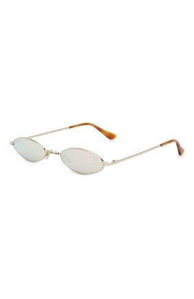 Женские солнцезащитные очки SPEKTRE серебряного цвета, арт. XYZ 02B | Фото 1