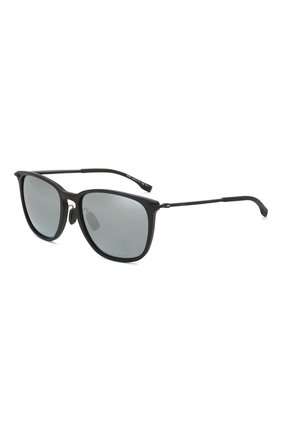 Мужские солнцезащитные очки BOSS черного цвета, арт. 0949/F 003   Фото 1