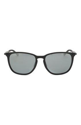 Мужские солнцезащитные очки BOSS черного цвета, арт. 0949/F 003   Фото 2