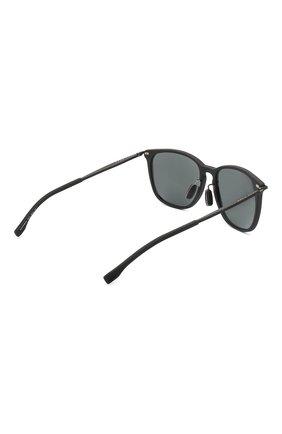 Мужские солнцезащитные очки BOSS черного цвета, арт. 0949/F 003 | Фото 3