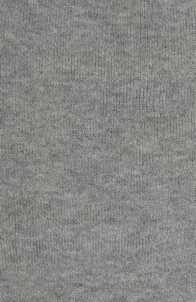 Детские хлопковые гольфы LA PERLA серого цвета, арт. 42516H/9-12 | Фото 2