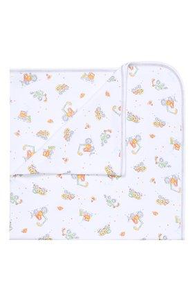 Хлопковое одеяло Kissy Kissy разноцветного цвета   Фото №1