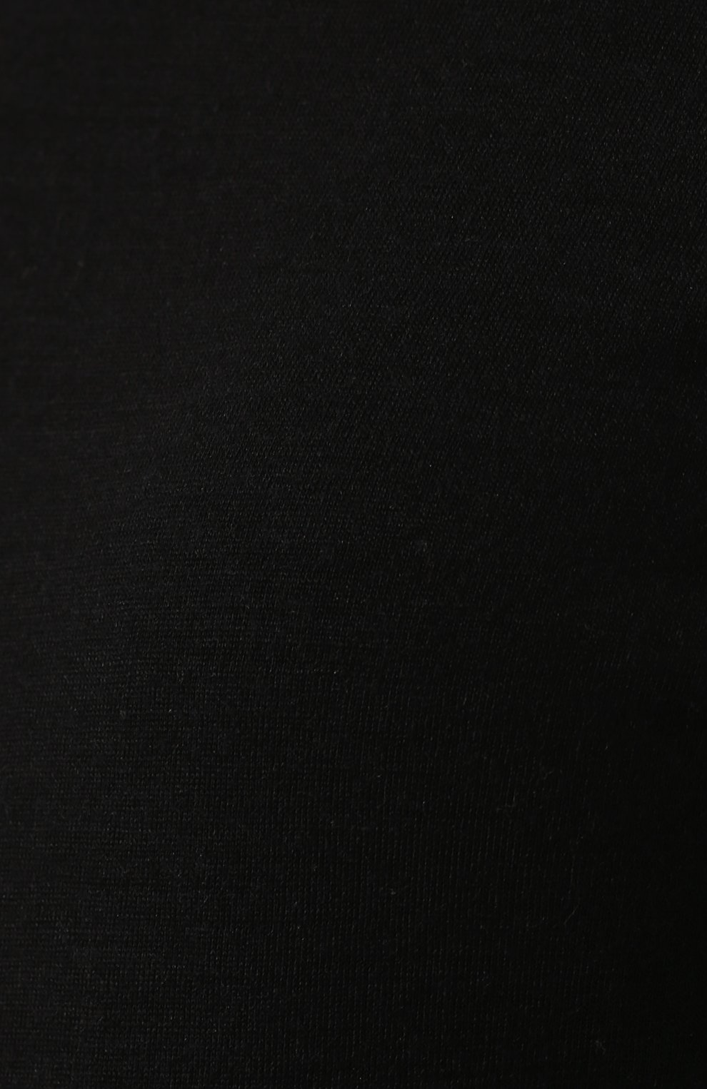 Однотонная водолазка на молнии BOSS черная | Фото №5