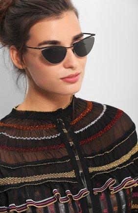 Солнцезащитные очки Mykita черные | Фото №1