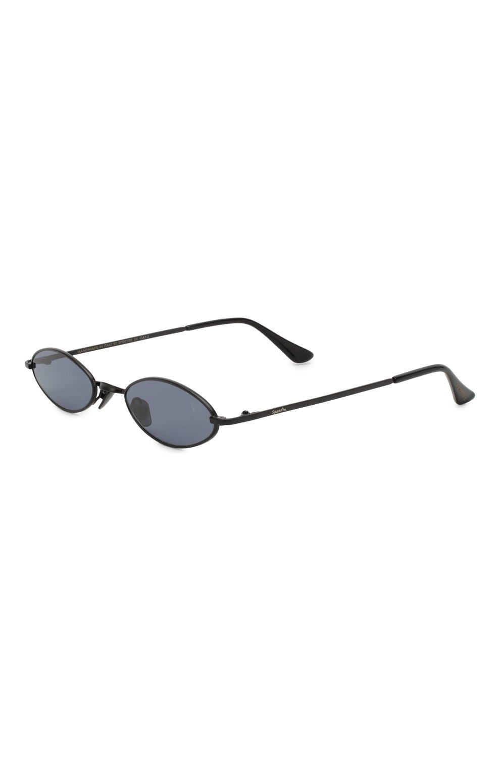 Женские солнцезащитные очки SPEKTRE черного цвета, арт. XYZ 01A | Фото 1