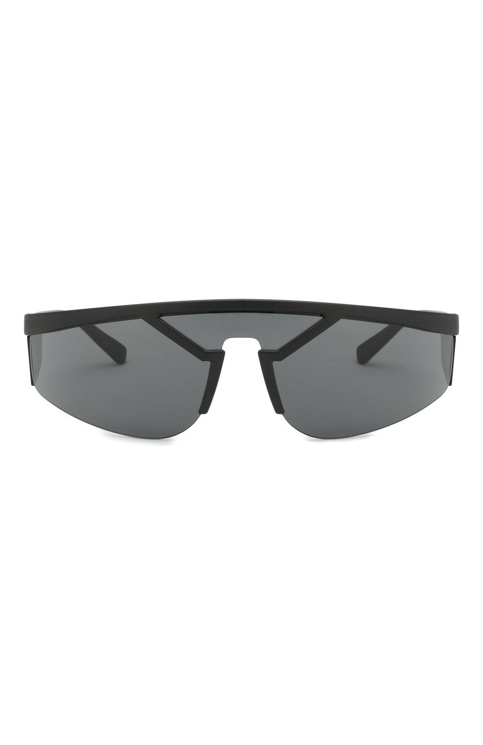 Женские солнцезащитные очки VERSACE черного цвета, арт. 4349-507987 | Фото 3