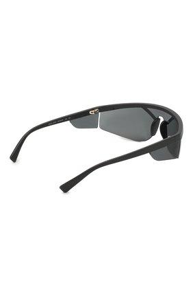 Женские солнцезащитные очки VERSACE черного цвета, арт. 4349-507987 | Фото 4