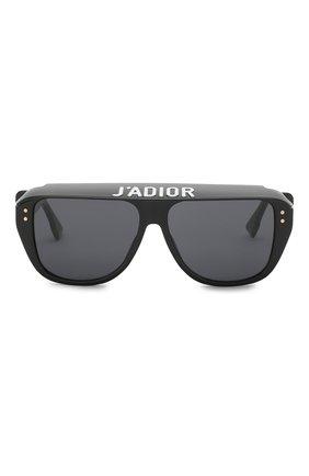 Женские солнцезащитные очки DIOR черного цвета, арт. DI0RCLUB2 807 | Фото 3