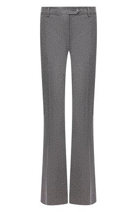 Расклешенные шерстяные брюки со стрелками | Фото №1