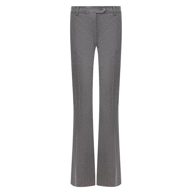 Расклешенные шерстяные брюки со стрелками Kiton