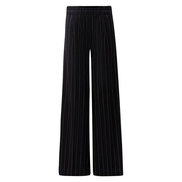 Шерстяные брюки с эластичным поясом Kiton