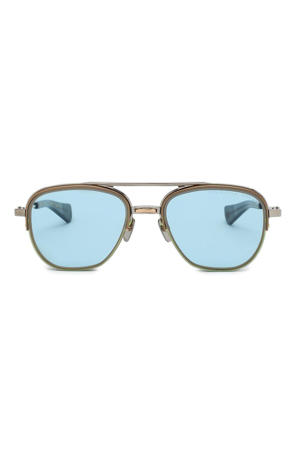 Мужские солнцезащитные очки DITA голубого цвета, арт. RIKT0N-TYPE 402/02 | Фото 2