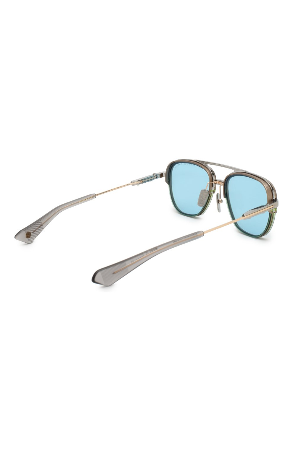 Мужские солнцезащитные очки DITA голубого цвета, арт. RIKT0N-TYPE 402/02 | Фото 3