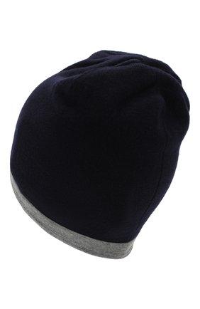 Детского шерстяная шапка MONCLER ENFANT синего цвета, арт. D2-954-99205-05-969BM | Фото 2