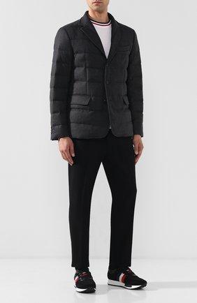 Пуховая куртка Rodin на пуговицах | Фото №2