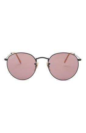 Солнцезащитные очки Ray-Ban розовые | Фото №3