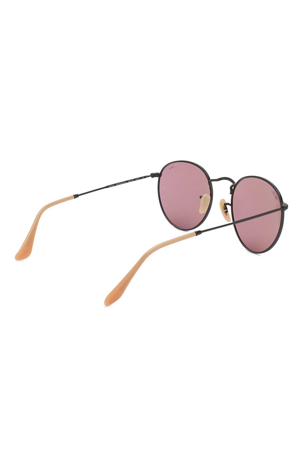 Солнцезащитные очки Ray-Ban розовые | Фото №4