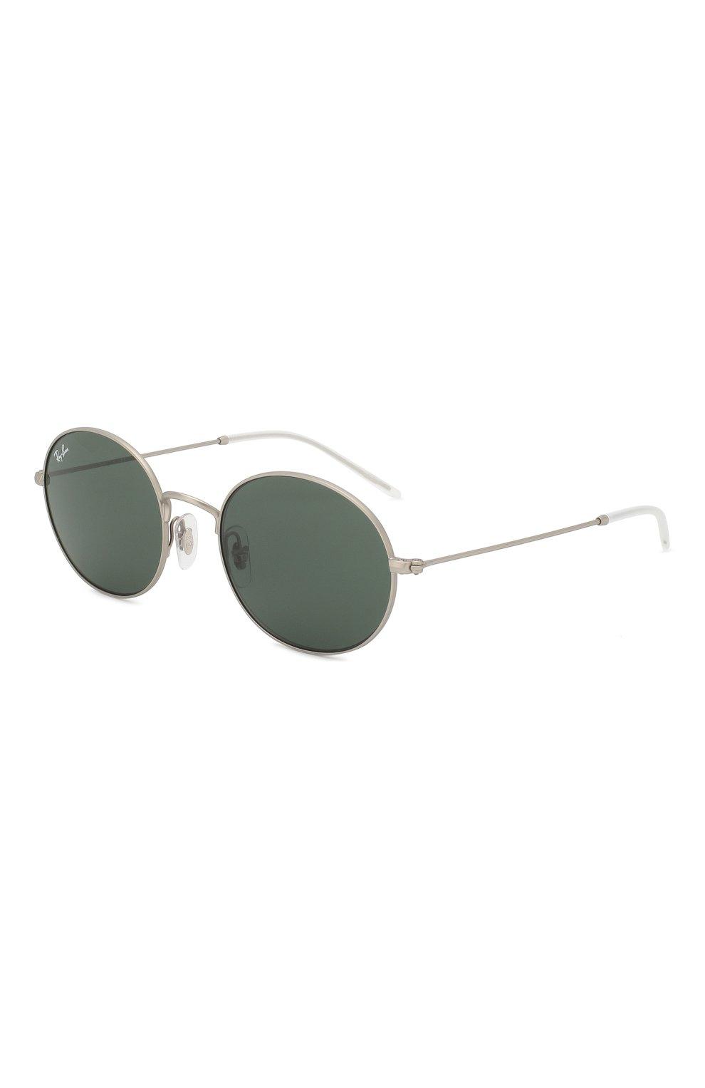 Мужские солнцезащитные очки RAY-BAN серебряного цвета, арт. 3594-911671   Фото 1 (Тип очков: С/з; Статус проверки: Требуются правки, Проверена категория; Очки форма: Овальные; Оптика Гендер: оптика-унисекс)