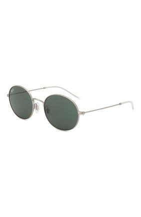 Мужские солнцезащитные очки RAY-BAN серебряного цвета, арт. 3594-911671 | Фото 1