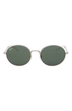 Мужские солнцезащитные очки RAY-BAN серебряного цвета, арт. 3594-911671 | Фото 2