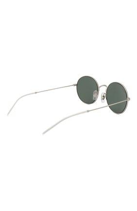 Мужские солнцезащитные очки RAY-BAN серебряного цвета, арт. 3594-911671   Фото 3 (Тип очков: С/з; Статус проверки: Требуются правки, Проверена категория; Очки форма: Овальные; Оптика Гендер: оптика-унисекс)