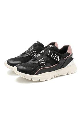 Комбинированные кроссовки Valentino Garavani Heroes Her   Фото №1