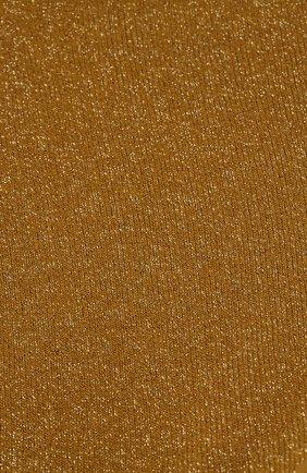 Женские носки с металлизированной нитью ROYALTIES бронзового цвета, арт. 0LIVIA/ACACIA | Фото 2