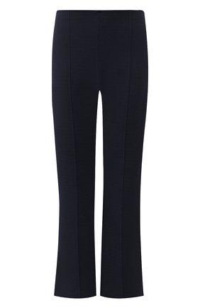 Укороченные расклешенные брюки со стрелками | Фото №1