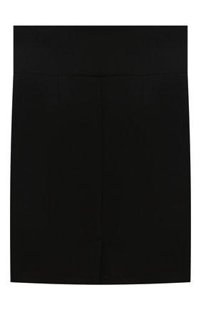 Детская юбка с декоративными пуговицами DAN MARALEX черного цвета, арт. 2439330 | Фото 2
