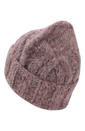 Вязаная шапка из шерсти   Фото №2