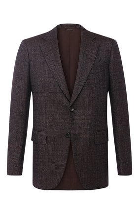 Однобортный пиджак из шерсти | Фото №1