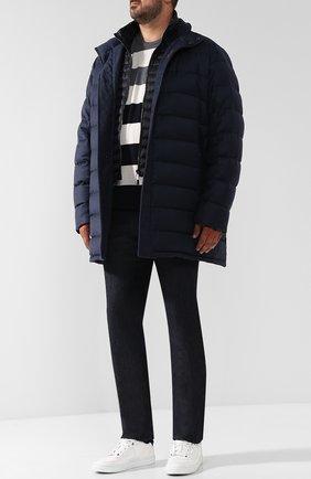 Пуховая куртка из смеси шерсти и кашемира Moorer #color#   Фото №1
