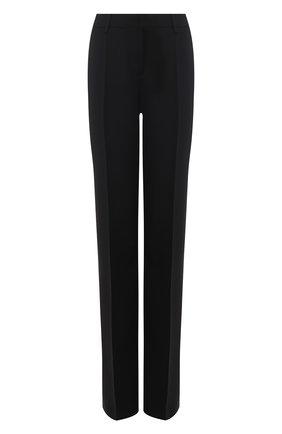 Однотонные брюки со стрелками Zuhair Murad черные | Фото №1