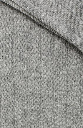 Детские хлопковые гольфы с декором LA PERLA серого цвета, арт. 48466H/9-12 | Фото 2